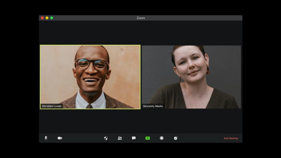 Zoom'un beta aşamasındaki yüz efektleri özelliği: Studio Effects